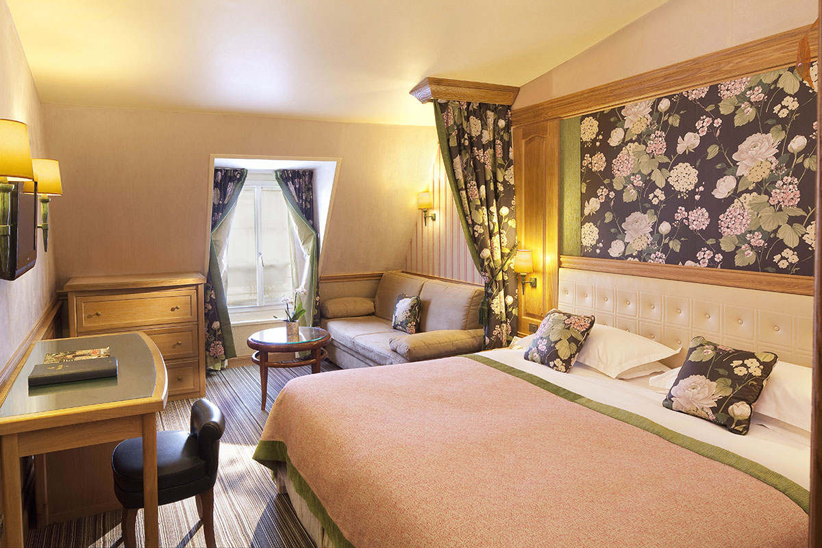 Chambres ex cutives h tel la perle st germain site for Chambre hotel reservation
