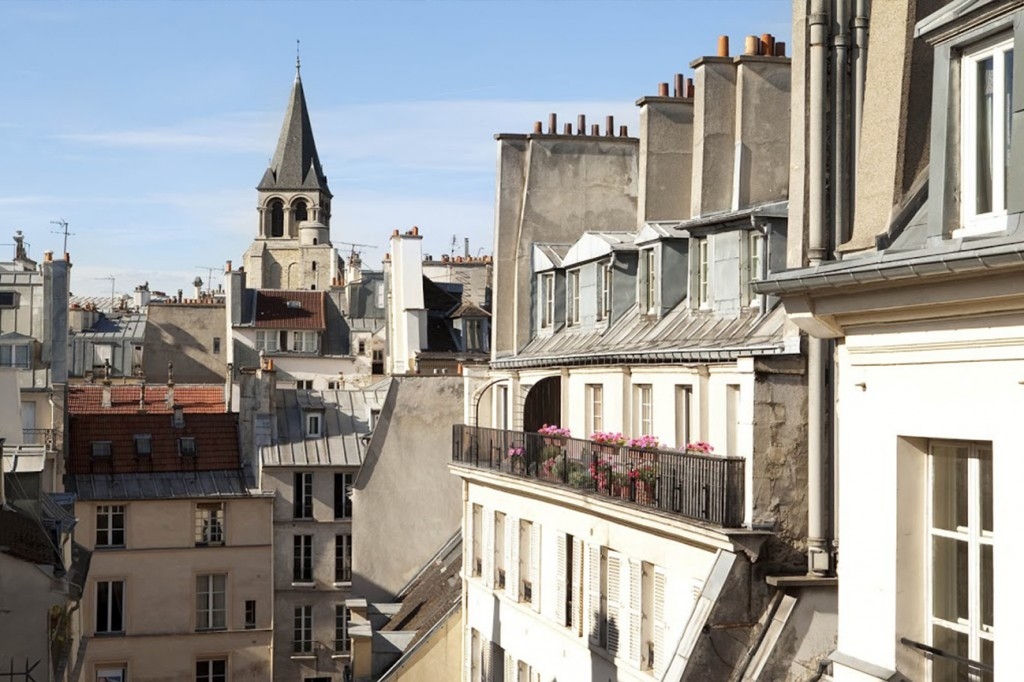 Saint germain des pr s hotel la perle st germain for Hotel paris x